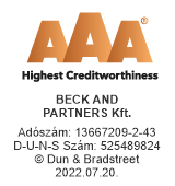Bisnode AAA tanúsítvany